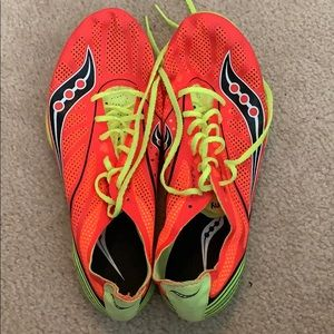 Saucony Endorphin MD4 long distance track spikes